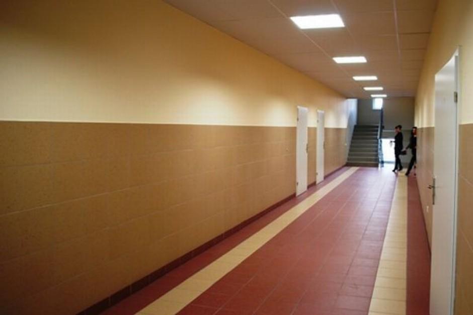 Kaliska szkoła w nowym budynku
