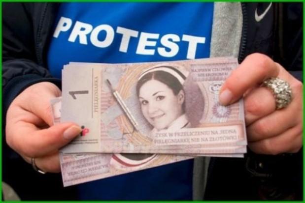 Protest w konińskiej lecznicy się zaostrza
