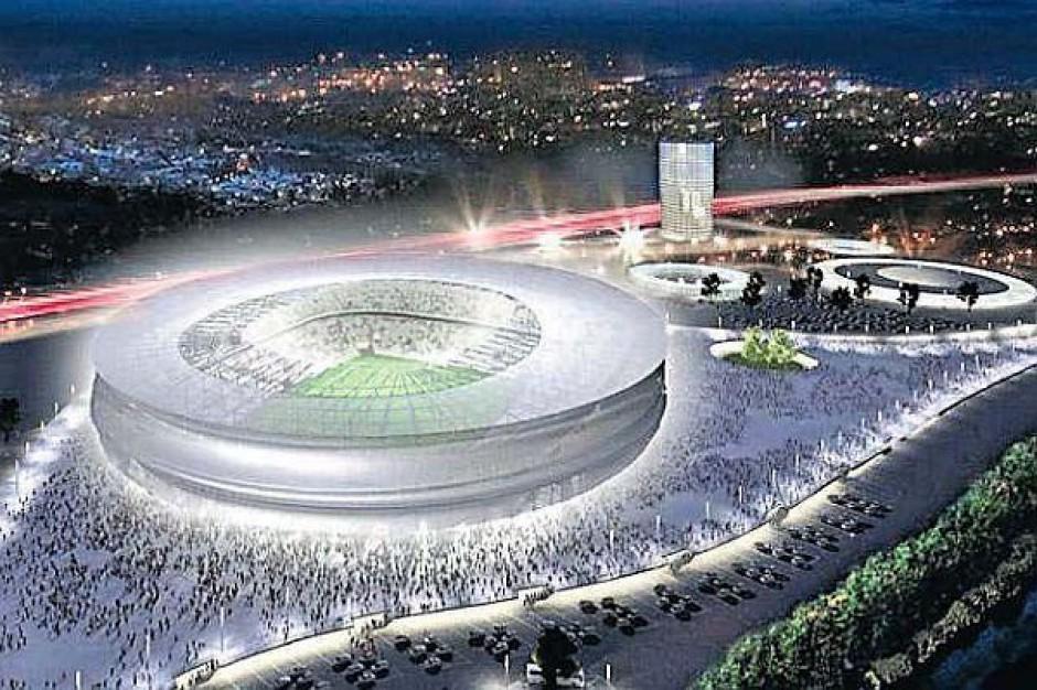 Wrocławski stadion jak chiński lampion