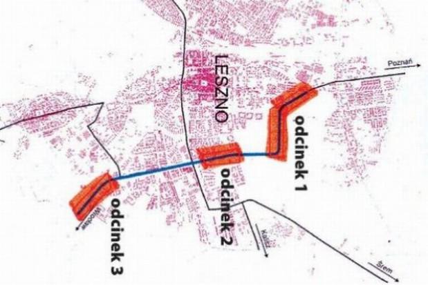 Drogowe inwestycje w Lesznie