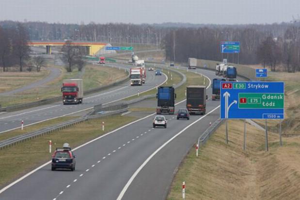 Mniej za autostrady