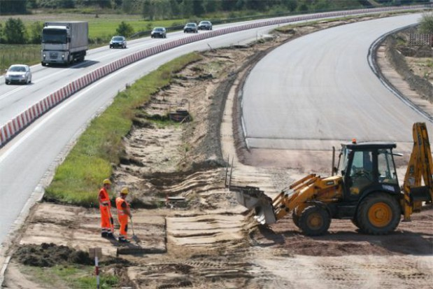 Autostrada z iłów i gliny