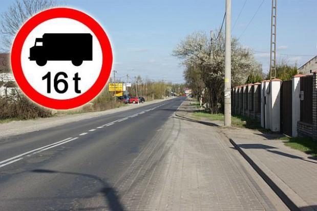 Konstancin-Jeziorna: zakaz wjazdu dla tirów
