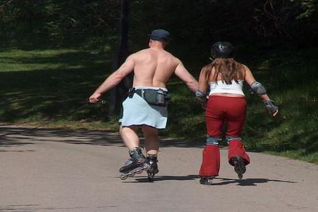 Wrotkarze zazdroszczą rowerzystom statusu