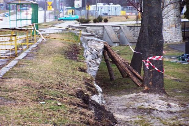 Chełm. Mur czeka na odbudowę