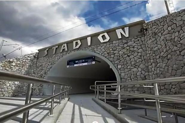 Stacja Stadion czeka na pasażerów