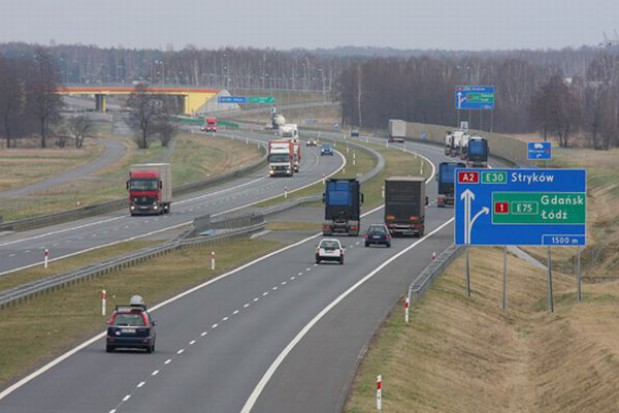 Osobówki popłyną na autostradzie