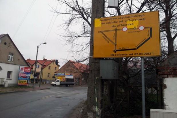 Remont Łukasińskiego: Mierzyn odcięty!