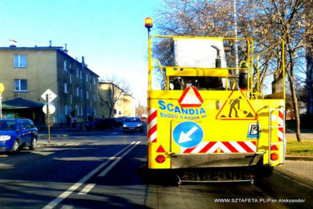 Wielkie mycie ulic przed majówką