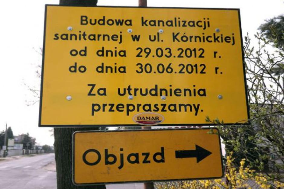 Budowa kanalizacji w Zalasewie i Garbach