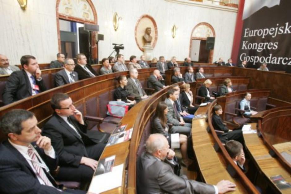 Inwestycje i budownictwo na kongresie