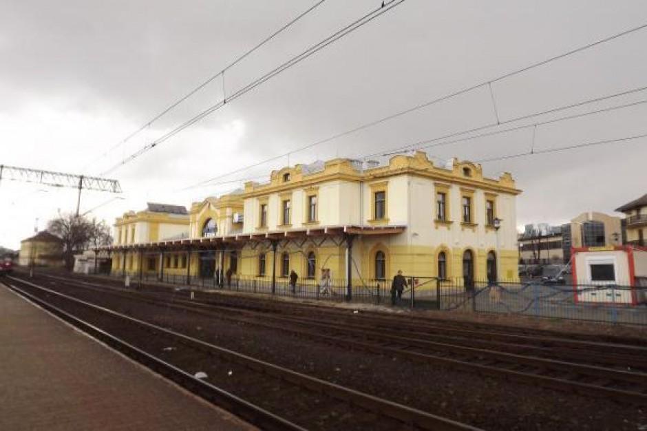 Dworzec PKP w Bochni po rewitalizacji