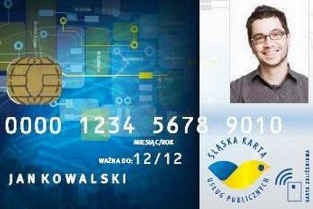 Jest wizualizacja Śląskiej Karty Usług Publicznych
