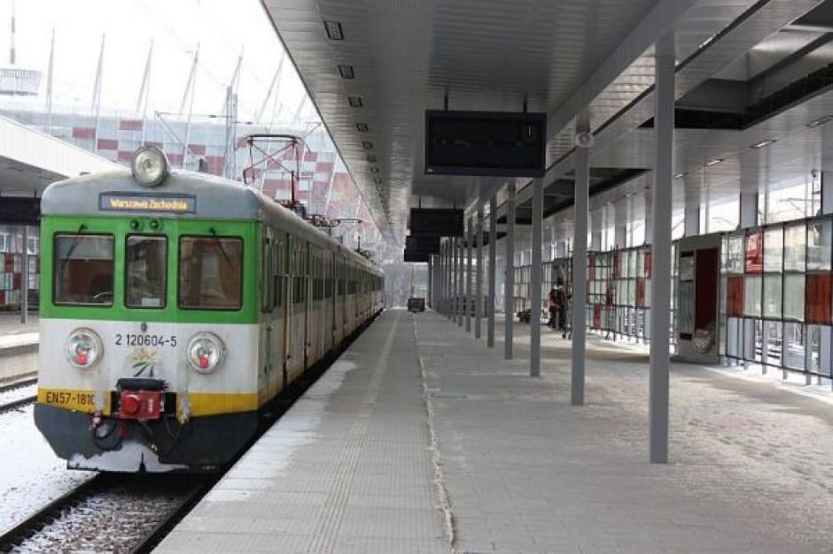 5 maja na przystanek Warszawa Stadion wjadą pociągi