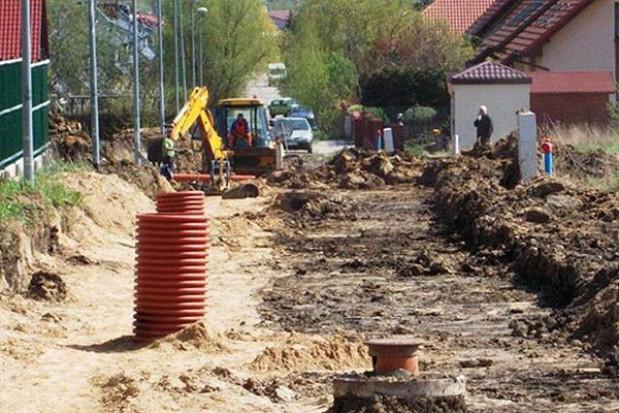 Trwa remont ulicy Radosnej w Mierzynie