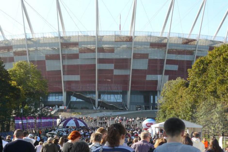 Pustka wokół Stadionu Narodowego