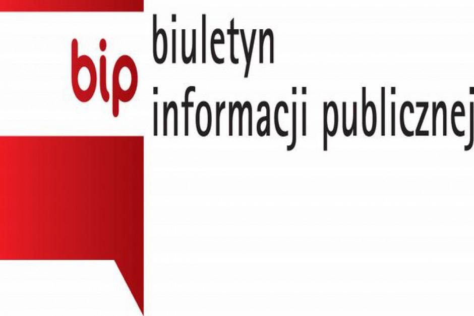 Samorządowe BIP-y do uzupełnienia