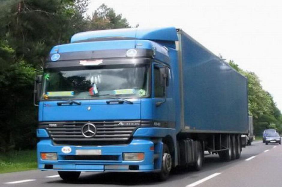 Tiry jeszcze bezkarne na drogach powiatowych