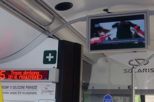 Autobusy w Swarzędzu: informacje na ekranach