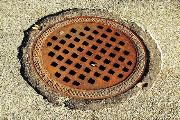 Półmetek kanalizacyjnej inwestycji