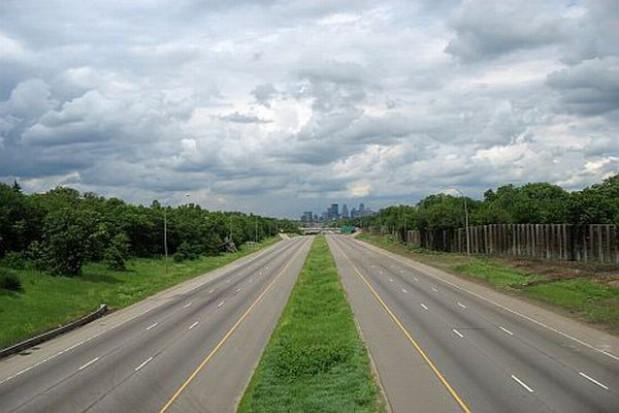 Niedorobiona autostrada