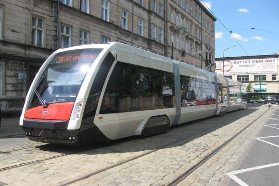 Ostatni z 45 zamówionych tramwajów trafił do Poznania