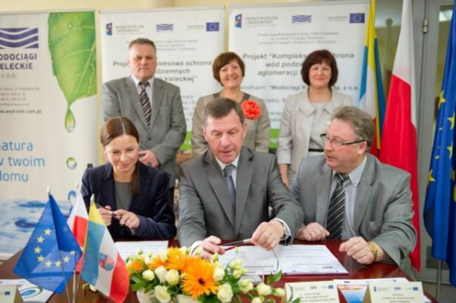 Największy kontrakt kanalizacyjny w Kielcach podpisany
