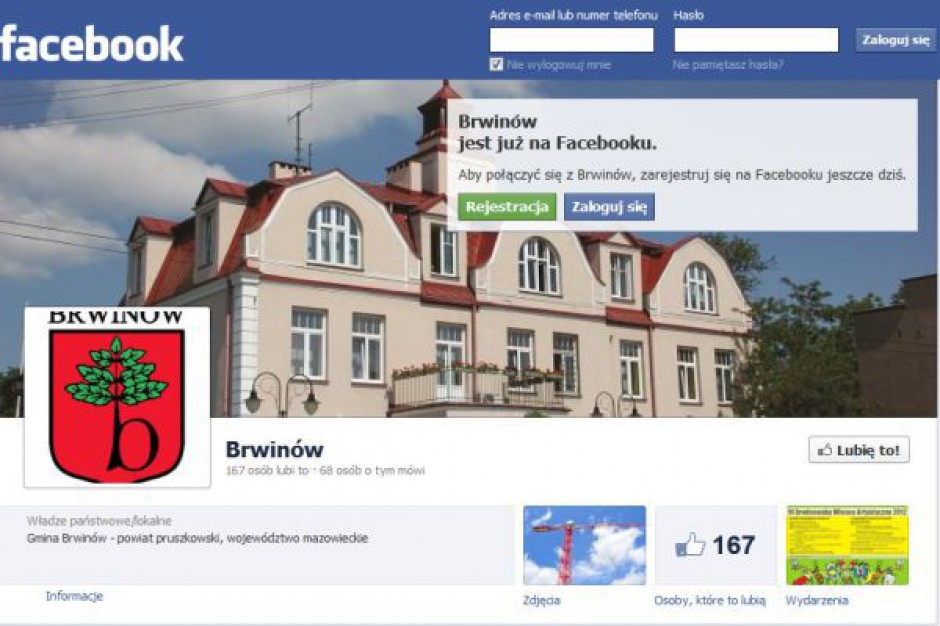 Urzędy na Facebooku dają się lubić