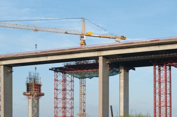Wzmacnianie mostu na A1 potrwa ponad rok