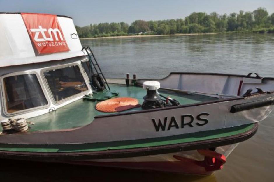 Stołeczny tramwaj wodny czeka na turystów