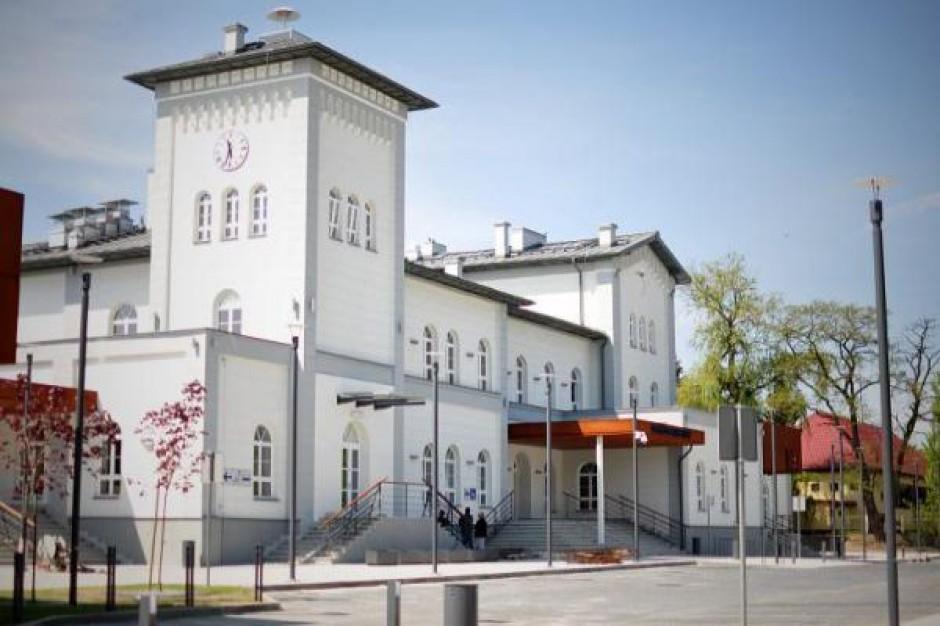 Dworzec PKP w Kutnie gotowy