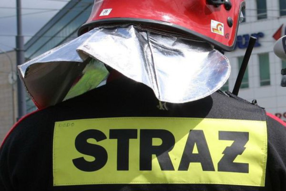 Akcja ratunkowa w remizach strażackich