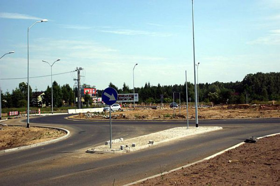 Rondo w Lubieszynie prawie gotowe