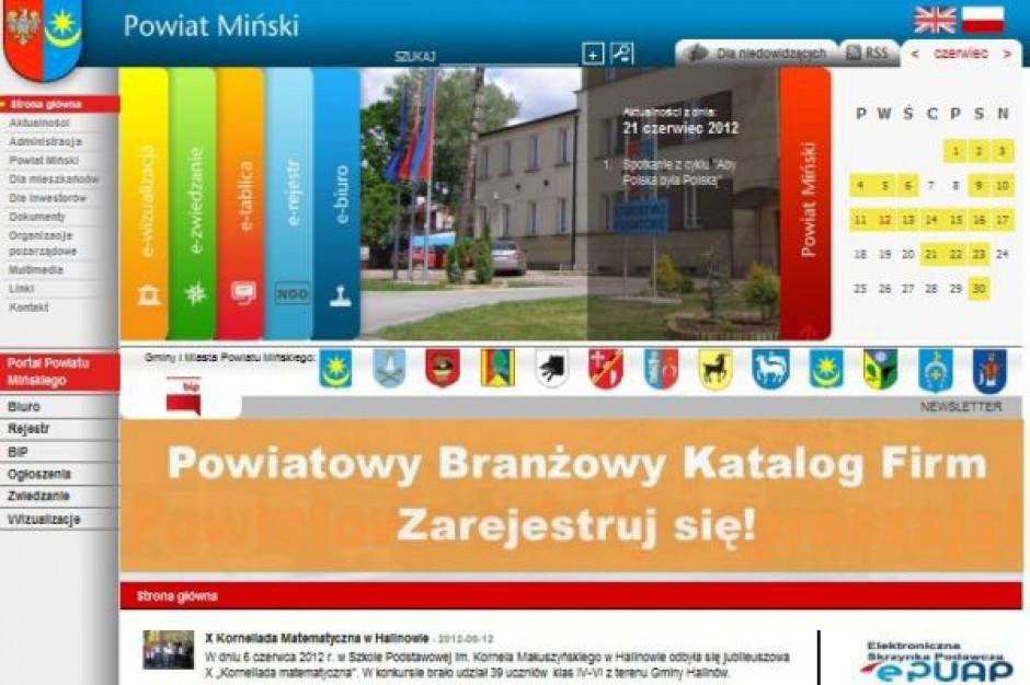 Nowe internetowe oblicze powiatu