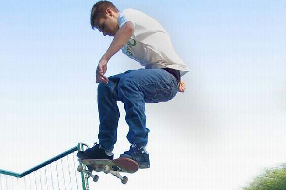 Nowy skatepark sąsiadem orlika