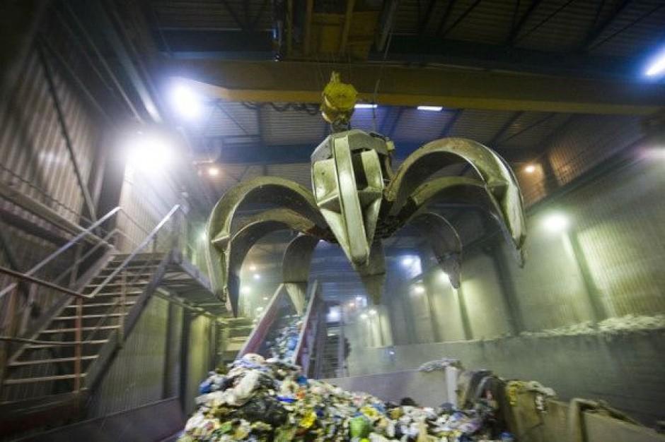 Kłótnia na budowie odpadowego zakładu