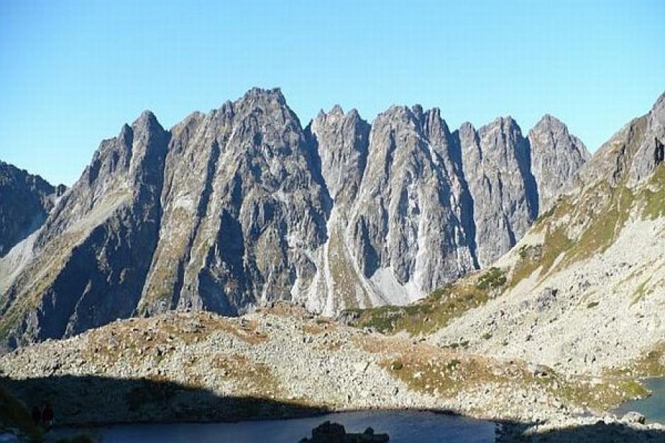 Góra śmieci w Tatrach