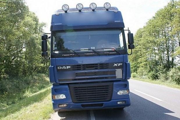Ciężarówki pojadą objazdem