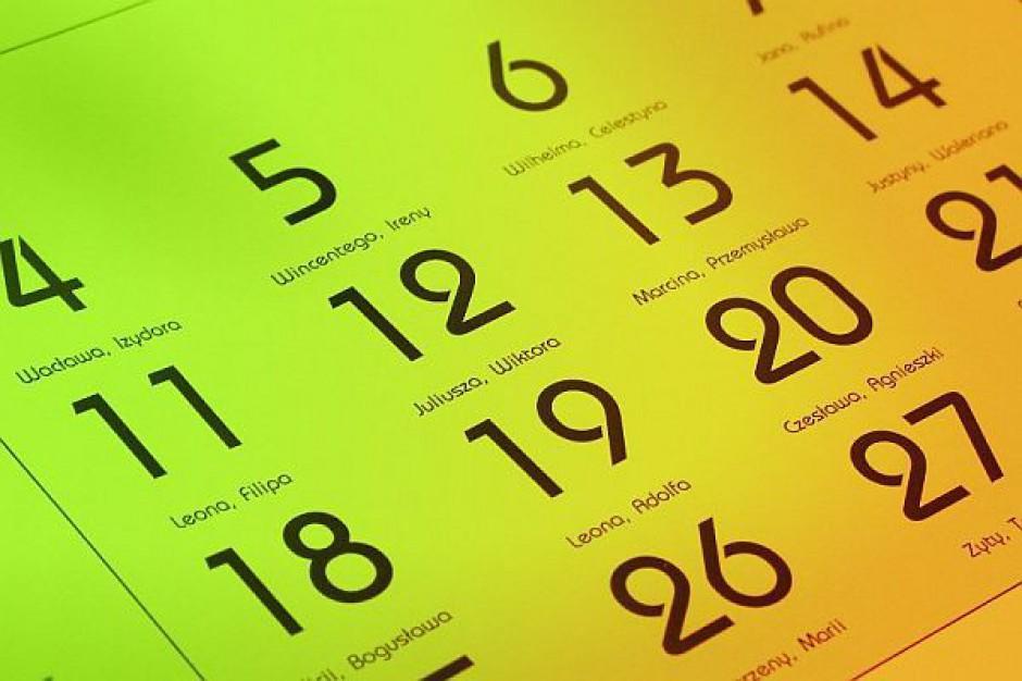 Kalendarzyk według RIO
