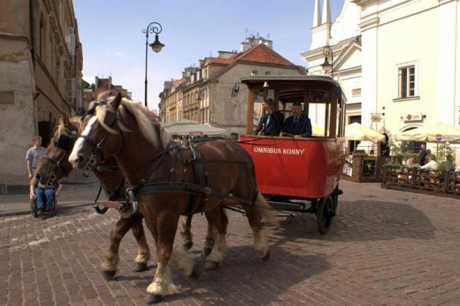 Konny omnibus wraca na warszawską Starówkę