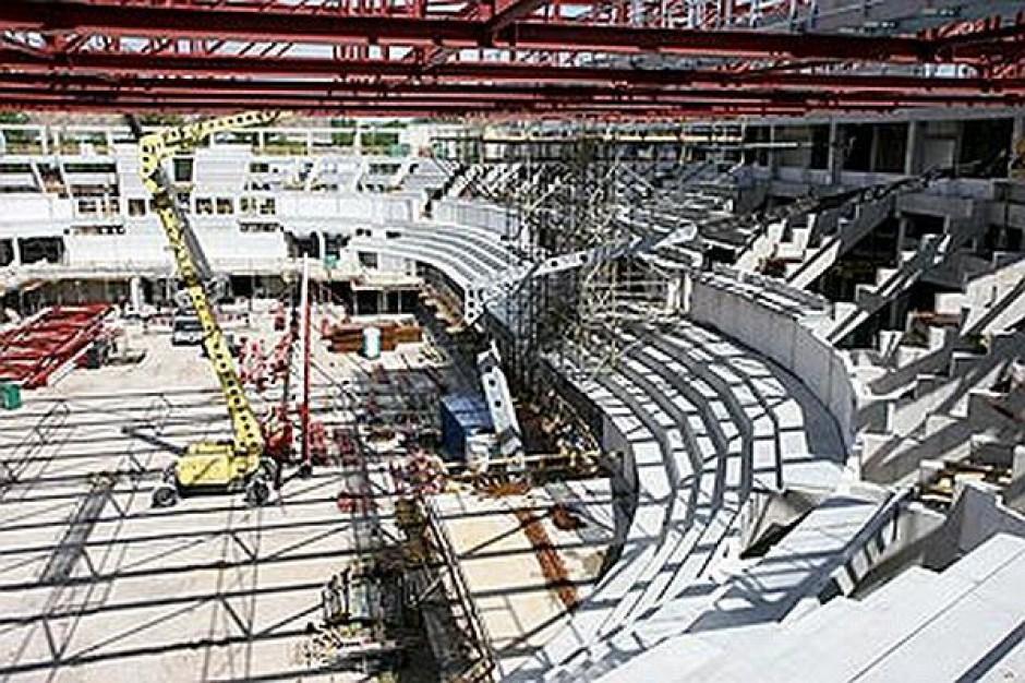 Opóźnienia na budowie hali w Toruniu