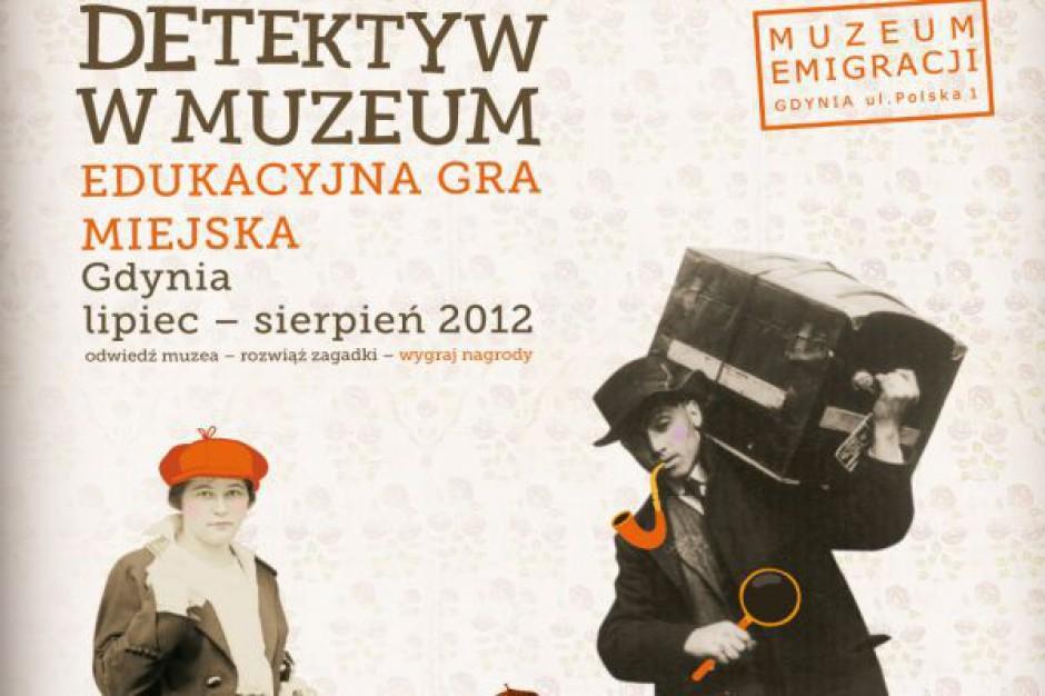 Detektyw w gdyńskim muzeum