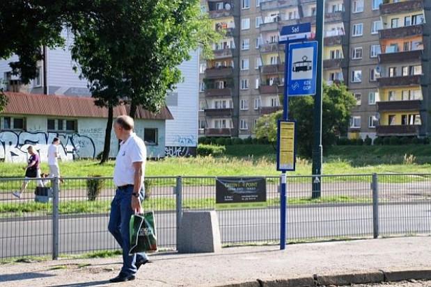 Nieprzyjazne przystanki w Sosnowcu