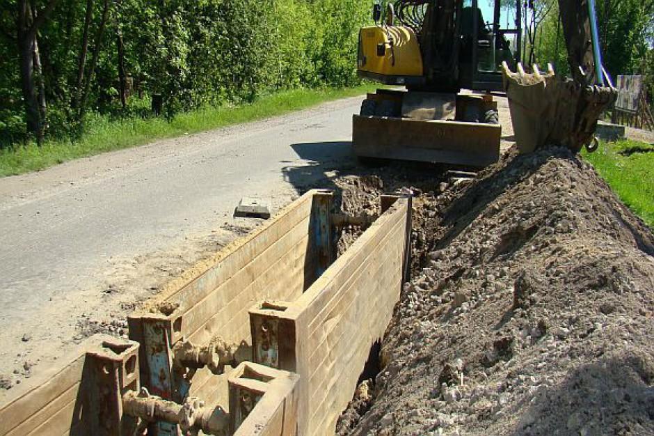 Budują kanalizację w Ząbkowicach