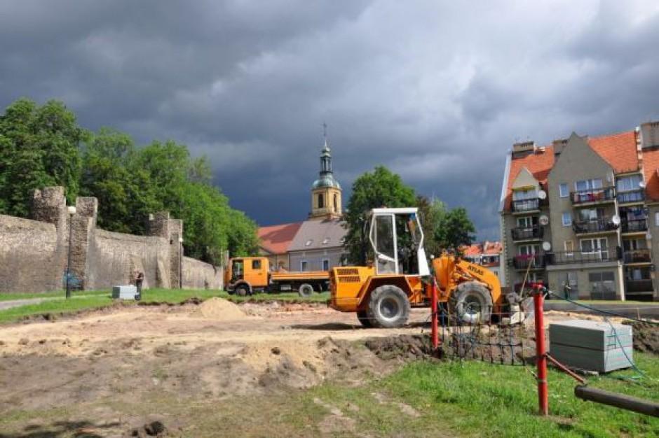 Nowy plac zabaw w Dzierżoniowie