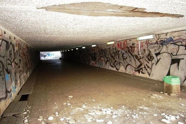 Straszą przejścia podziemne w Sosnowcu