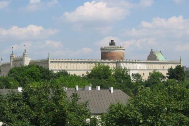 Zobacz Lublin z zamkowego tarasu