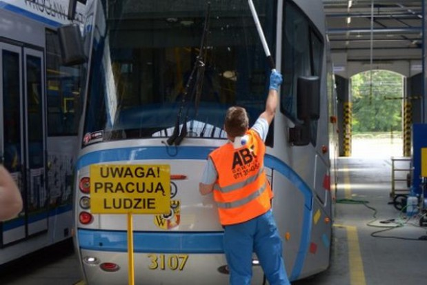 Wrocław zainwestuje w myjnię dla...tramwajów