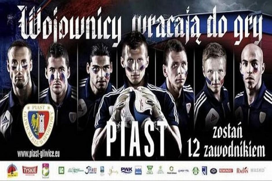 Piłkarze Piasta w roli wojowników