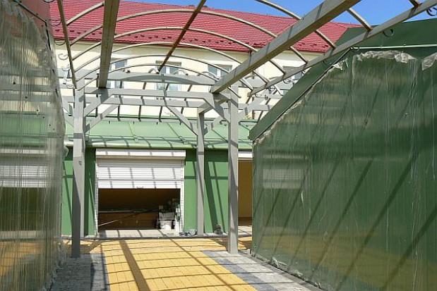W Sanoku zakończyła się przebudowa targowiska